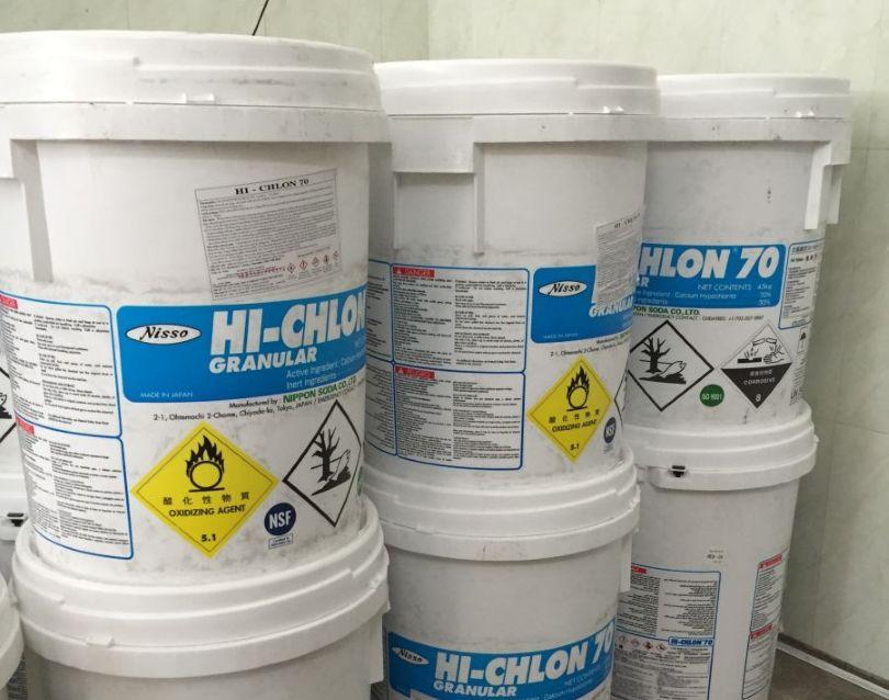 Clorin Nhật - Mặt hàng chủ lực của Công ty Hóa chất và Thiết bịViệt Hưng